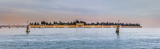 San Michele Cemetery, Venice Royalty Free Stock Images