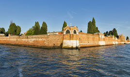 San Michele Cemetery, Venise, Italie image libre de droits