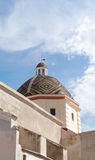 San Michele church, Alghero Stock Images