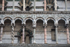 San Michele church in Lucca, Tuscany, Italy Stock Photography