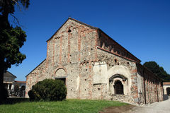 San Michele Church in Oleggio, Italy Stock Photography