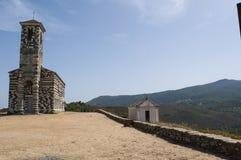 San Michele de Murato, église, Murato, Haute-Corse, Corse, France, île, l'Europe Images stock