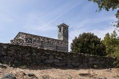San Michele de Murato, église, Murato, Haute-Corse, Corse, France, île, l'Europe Photographie stock
