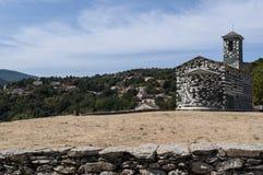 San Michele de Murato, église, Murato, Haute-Corse, Corse, France, île, l'Europe Image libre de droits