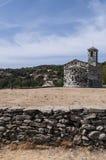 San Michele de Murato, église, Murato, Haute-Corse, Corse, France, île, l'Europe Image stock