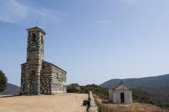 SAN Michele de Murato, εκκλησία, Murato, Haute-Corse, Κορσική, Γαλλία, νησί, Ευρώπη Στοκ Εικόνα