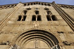San michele facade, pavia Stock Photos