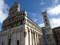 San Michele in Foro, Lucca lizenzfreies stockbild