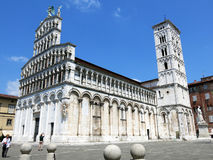 San Michele in Foro, Lucca, Italy Royalty Free Stock Images