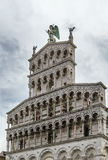 San Michele in Foro, Lucca, Italy Stock Photos