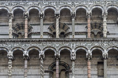 San Michele in Foro in Lucca Stock Images