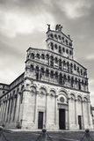 San Michele in Foro, Roman Catholic basilica church in Lucca, Tu Royalty Free Stock Photos