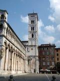San Michele nella chiesa di Foro - Lucca, Immagini Stock Libere da Diritti