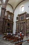 San Miguel Allende Cathedral Interior Royalty Free Stock Image