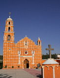 San miguel almoloyan church Royalty Free Stock Photos
