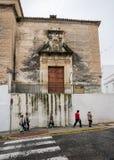 SAN Miguel Arcos de στο Λα Frontera κοντά στο Καντίζ Ισπανία Στοκ Εικόνα