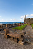 San Miguel Castle in Garachico Town stock photography
