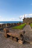 San Miguel Castle in Garachico Town Stock Photography