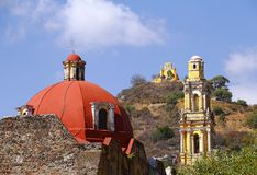 San miguel chapel I Royalty Free Stock Photography