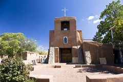 San Miguel Church royalty free stock photography