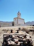 San Miguel church-Cabo de Gata--Almeria. San Miguel church- Cabo de Gata-Almeria-Spain-europe Royalty Free Stock Photography