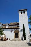 San Miguel church, Granada. Royalty Free Stock Photography