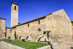 San Miguel Church  Montblanc, Tarragona Spain Stock Images