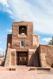 San Miguel Church, Santa Fe som är ny - Mexiko Royaltyfri Foto