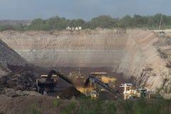San Miguel Coal Mine Immagine Stock