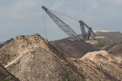 San Miguel Coal Mine royalty free stock images