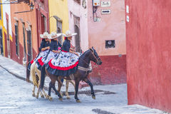 San Miguel de Allende Royalty Free Stock Photo