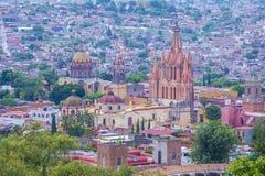 San Miguel de allende royalty-vrije stock afbeelding