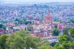 San Miguel de allende Royalty-vrije Stock Afbeeldingen