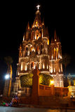 San Miguel de Allende Church Royalty Free Stock Images