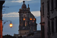 San Miguel de Allende Church. This is one of the many churches of San Miguel de Allende in Mexico Stock Images