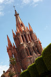 San Miguel de Allende Church Royalty Free Stock Photography