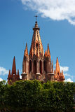 San Miguel de Allende Church Royalty Free Stock Photos