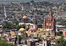 San Miguel de Allende downtown Stock Photo