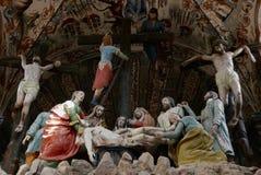 San Miguel De Allende-January 18, 2017: Frescos in Santuario de Atotonilco Royalty Free Stock Image