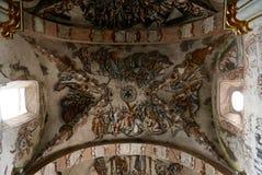 San Miguel De Allende-January 18, 2017: Frescos in Santuario de Atotonilco Stock Photo