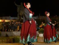 San Miguel De Allende-January 18, 2017: Mexicaanse Volksdansers Royalty-vrije Stock Fotografie