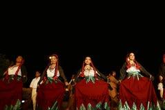 San Miguel De Allende-January 18, 2017: Mexicanska Folk dansare Royaltyfria Foton
