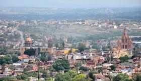 San Miguel de Allende. Landmark of San Miguel de Allende, Guanajuato, Mexico stock photos