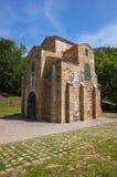 San Miguel de Lillo, église pré-romane, siècle IX Images stock
