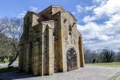 San Miguel de Lillo в Овьедо стоковые фото