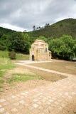 San Miguel de Lillo ancient church Stock Image