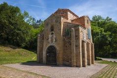San Miguel de Lillo, chiesa pre-romanica, secolo IX Immagine Stock