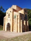 San Miguel de Lillo chuch i Oviedo Arkivfoton