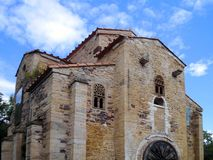 San Miguel de Lillo in the city of Oviedo in Asturias. Spain. Europe royalty free stock images