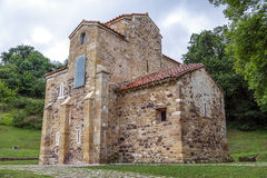 San Miguel de Lillo i Oviedo Arkivbild